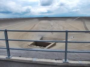 elektrownia Dlouhe Strane pusta, bez wody