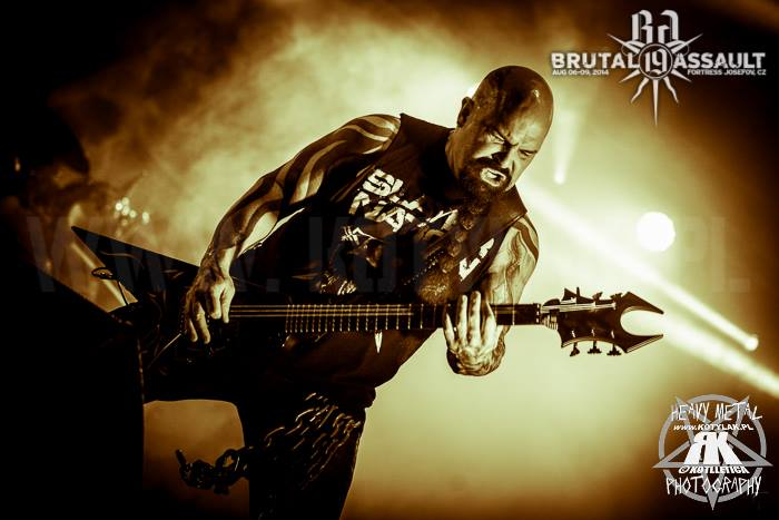 Slayer na Brutal Assault 2014