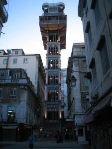 Elevador Santa Justa Lizbona