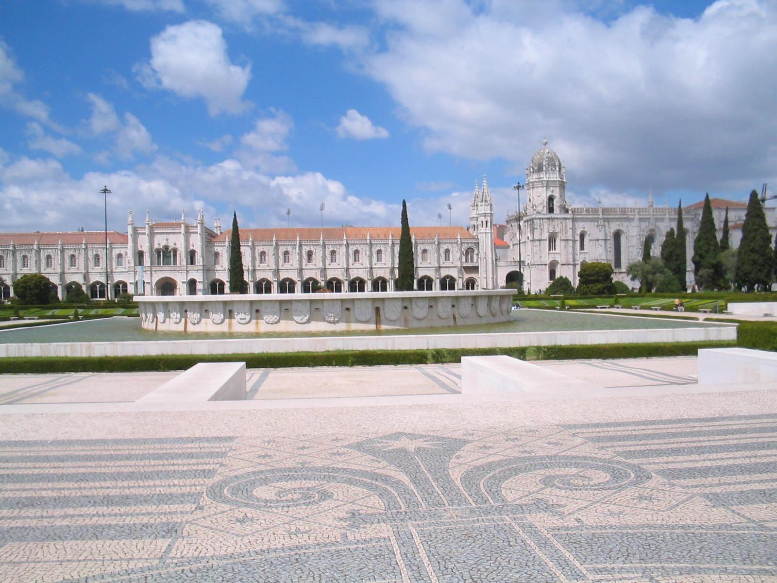 Klasztor Jeronimos Lizbona