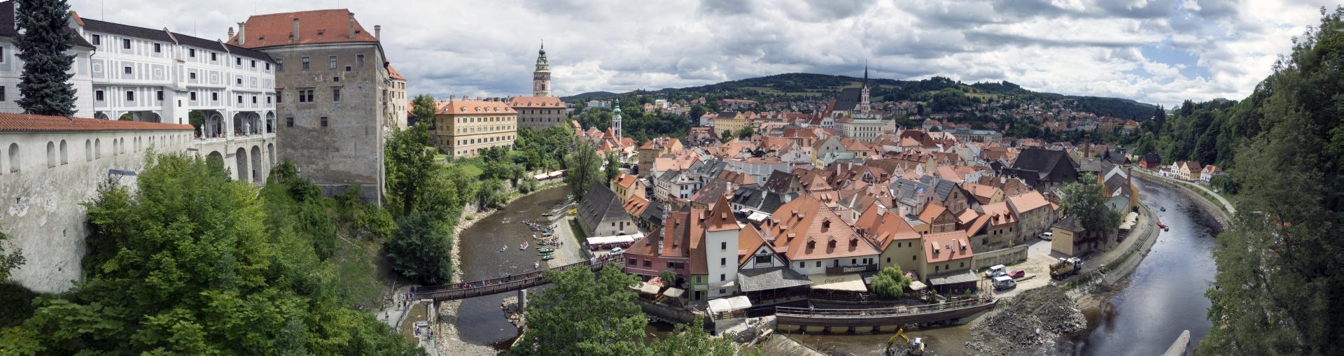 czeski Krumlov blog o podróżach podróże po Czechach