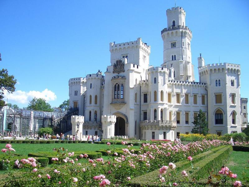 zamek Hluboka blog o podróżach, podróże po Czechach