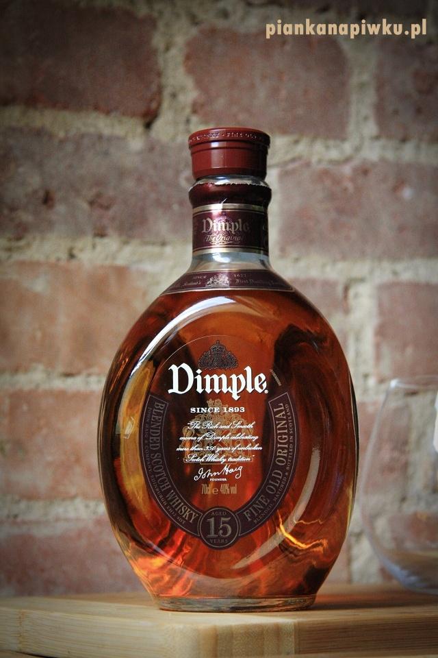 blog o alkoholach - whisky Dimple