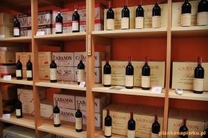 winnica piwnica win włoskich w Zielonej Górze