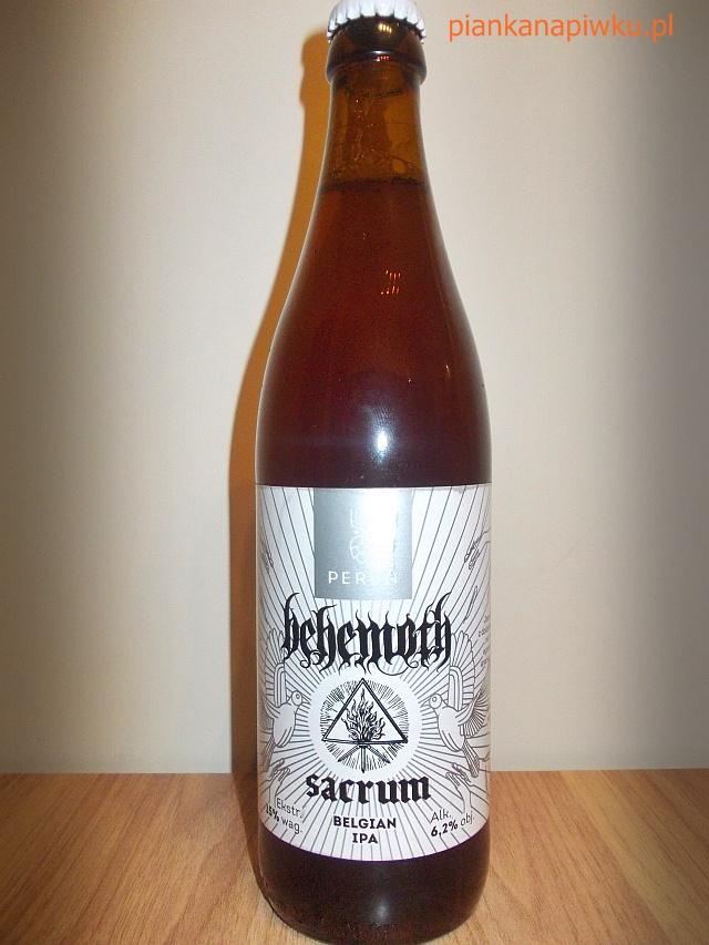 blog o alkoholach piwach whisky piwo sacrum behemoth