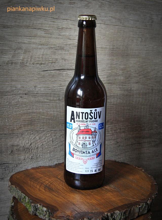 czeskie piwa: Antosuv Bohemia Ale