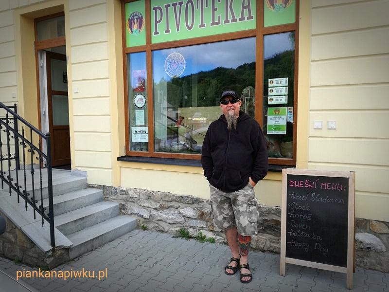 blog o piwach - czeska piwoteka w Jesenikach