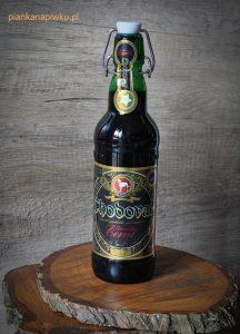 blog o piwach - piwa czeskie: Zameckie Cerne