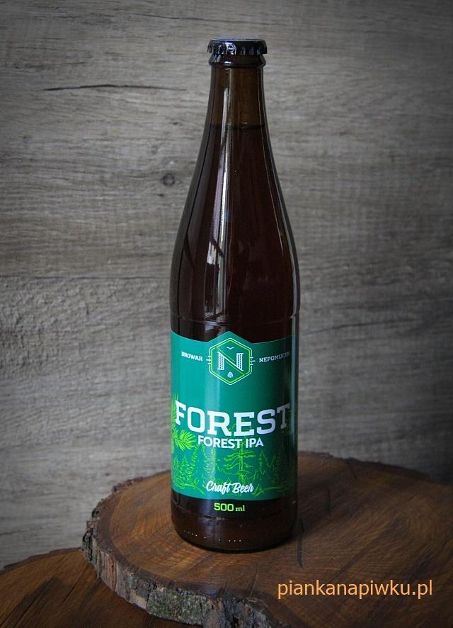 piwo kraftowe rzemieślnicze blog o piwach - piwo Forest