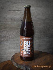 piwo kraftowe rzemieślnicze blog o piwach, piwo Bumerang
