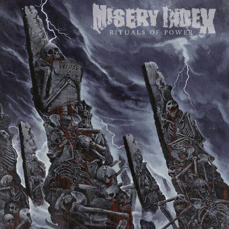 """Misery index - """"Rituals of Power"""" recenzje albumów metalowych, blog metala"""
