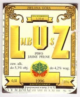 piwo jasne pełne Lubusz - blog o piwach