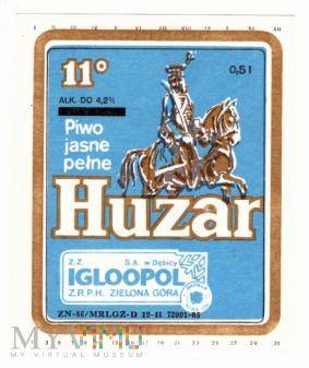 piwo jasne pełne Huzar - blog o piwie