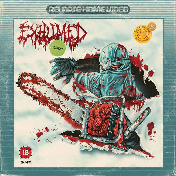 "EXHUMED ""Horror"" recenzja płyty - blog metala"