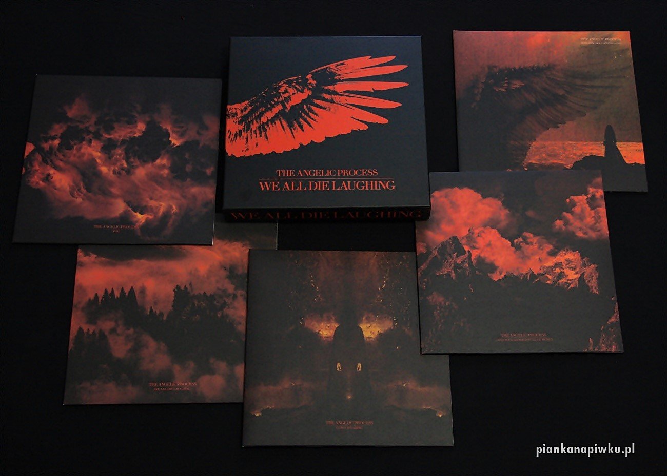 The Angelic Process - We All Die Laughing 6LP Box