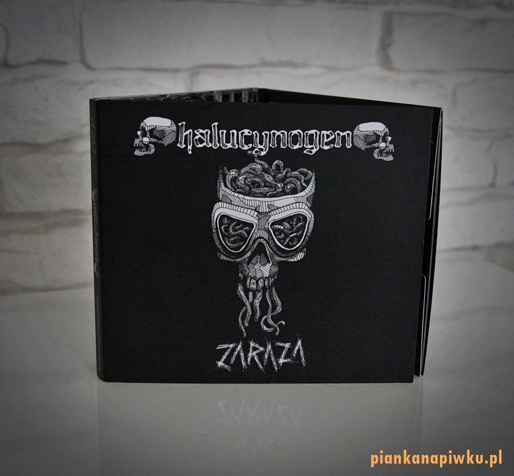 Halucynogen Zaraza - recenzje płyt, blog o muzyce metalowej