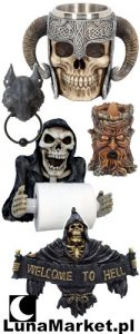 LunaMarket.pl sklep z prezentami, mroczne magiczne figurki
