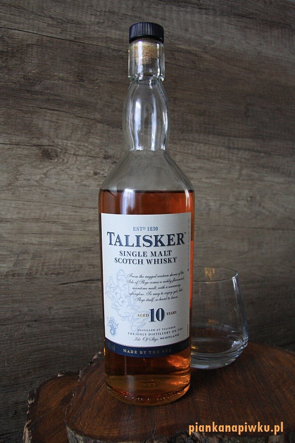 Talisker 10 YO Single Malt - blog o whisky