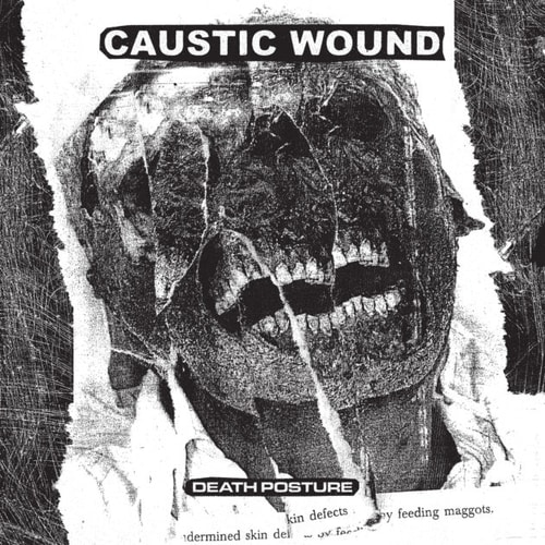 """Caustic Wound """"Death Posture"""" - recenzja płyty, blog metalowy"""