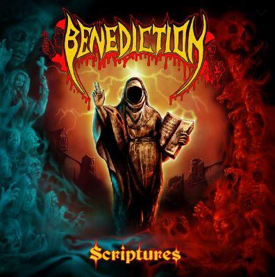 """BENEDICTION """"Scriptures"""" - recenzja płyty, blog o muzyce metalowej"""