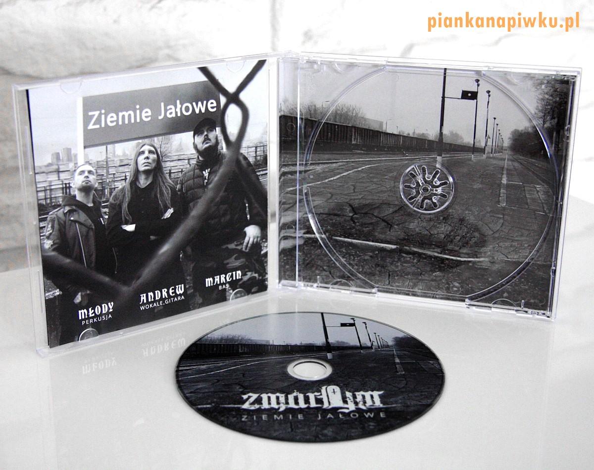 """ZMARŁYM """"Ziemie Jałowe"""" EP 20202 - recenzja płyty, blog o muzyce metalowej"""