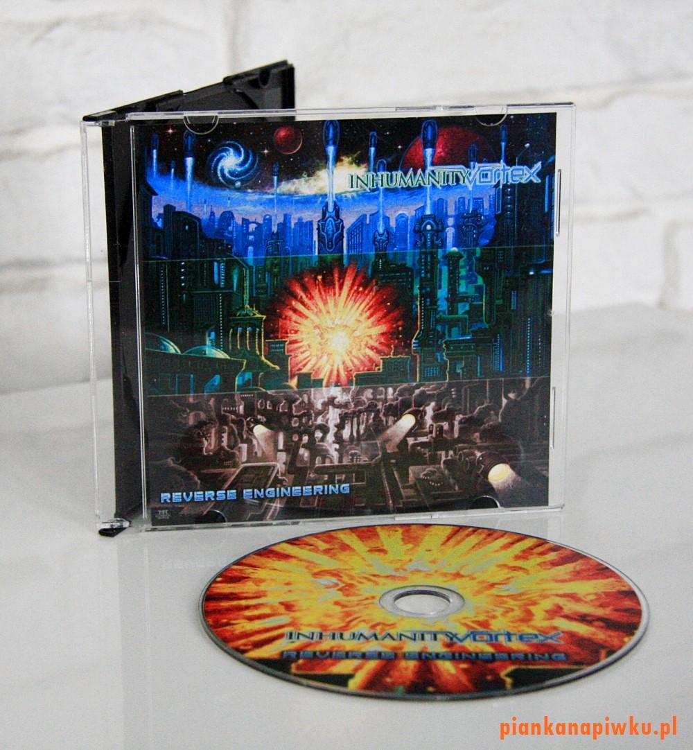INHUMANITY VORTEX Reverse Engineering - recenzja płyty, blog o muzyce metalowej