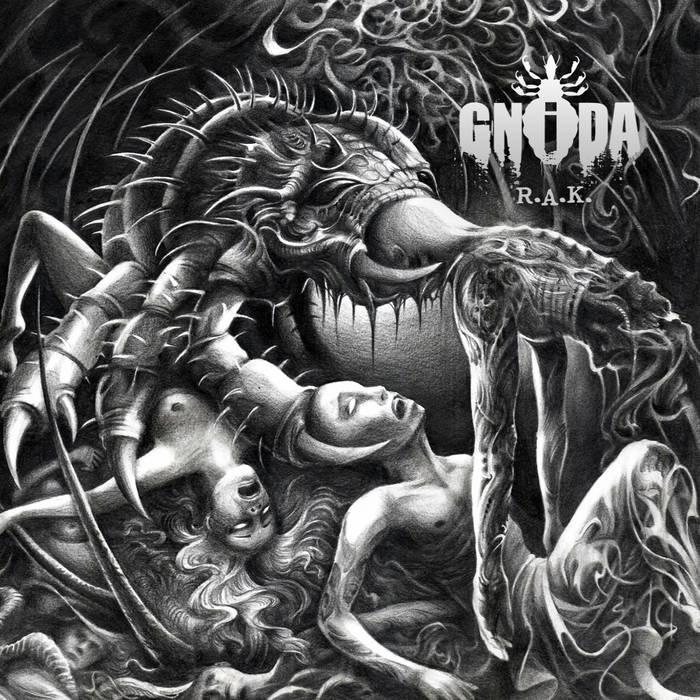 """GNIDA """"R.A.K."""" recenzja płyty, blog o muzyce metalowej, alternatywnej"""