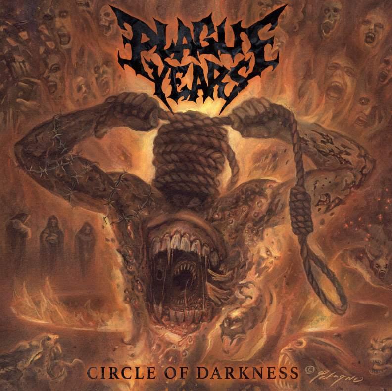 """PLAGUE YEARS """"Circle of Darkness"""" recenzja płyty, blog o muzyce metalowej"""