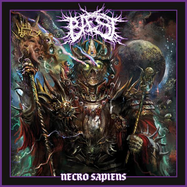 """BAEST """"Necro Sapiens"""" blog o muzyce metalowej, recenzja płyty"""