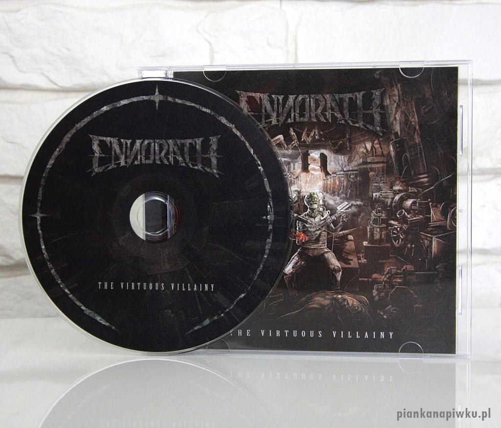 ENNORATH The Virtuous Villainy - recenzja płyty, blog o muzyce metalowej