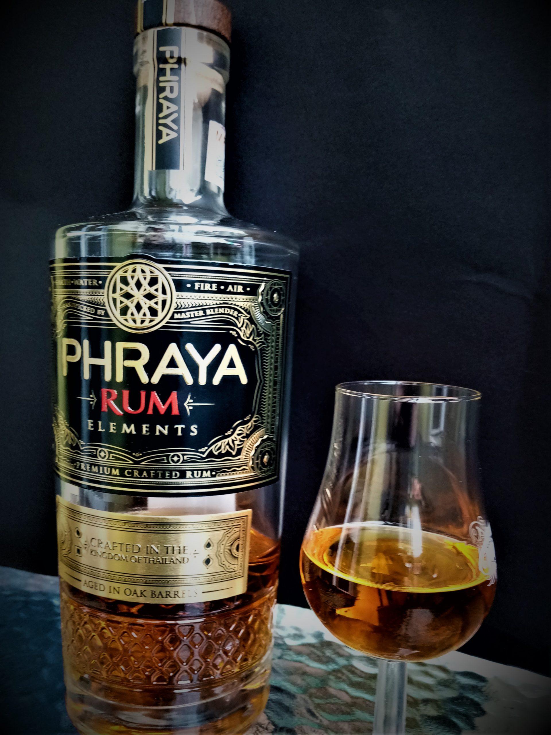 PHRAYA Rum Elements 40% (Tajlandia) blog o alkoholach