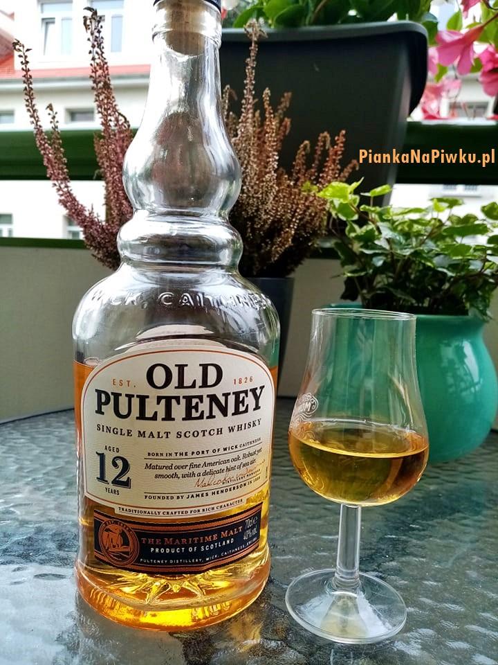 OLD PULTENEY 12 Y0 Single Malt Scotch Whisky 40% - blog o whiskey