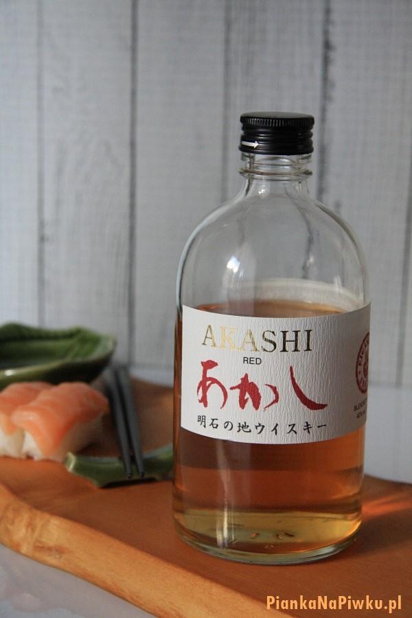 Akashi red japońska whisky - blog